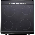 more details on Bush BESC60B Single Electric Cooker - Black/Ins/Del/Rec.