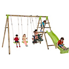 more details on Plum Silverback Wooden Garden Swing Set.
