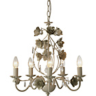 more details on Heart of House Briar 5 Light Chandelier Ceiling Fitting.