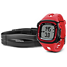 more details on Garmin Forerunner 15 GPS Running Watch with HRM - Red/Black.