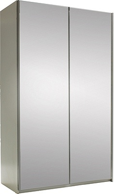 Buy Hygena Bergen 2 Door Small Sliding Wardrobe Mirrored