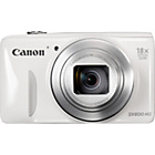 more details on Canon PowerShot SX600 HS 16MP Compact System Camera - White.