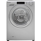 more details on Candy GV158T3S 8KG 1500 Spin Washing Machine-Silver/Exp.Del.