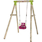 more details on Plum Quoll Wooden Pole Swing Set.