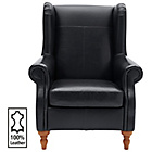 more details on Heart of House Argyll Leather Chair - Black.