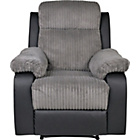 more details on Collection Bradley Manual Recliner Chair - Charcoal.