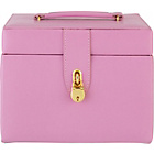 more details on Small Four Drawer Pink Jewellery Box.