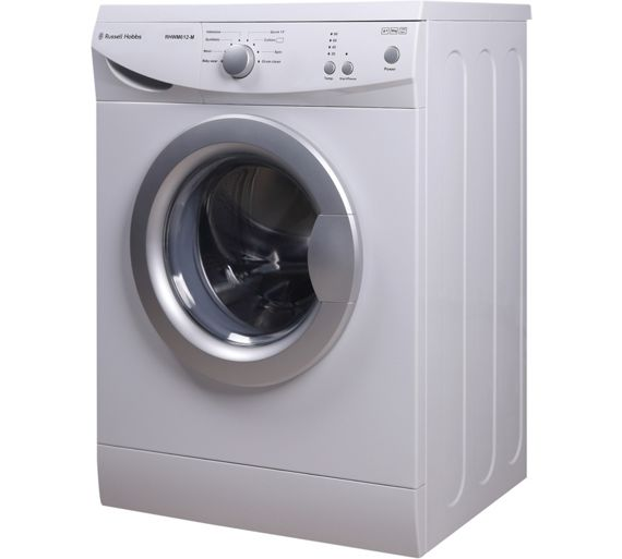 buy russell hobbs rhwm612m 6kg 1200 washing machine ins. Black Bedroom Furniture Sets. Home Design Ideas