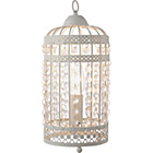 more details on Heart of House Birdcage Table Lamp - Cream.