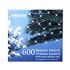 more details on 600 Static LED String Lights - White.