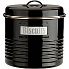 more details on Typhoon Vintage Kitchen Large Storage Canister - Black.