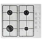 more details on Cookworks AG60GNW Gas Hob - White.