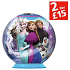 more details on Ravensburger Disney Frozen 72 Piece 3D Puzzleball