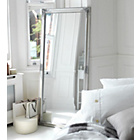 more details on Heart of House Charlotte Ornate Leaning Wall Mirror - Silver