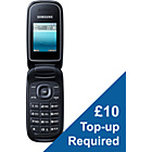 more details on EE Samsung E1270 Mobile Phone - Black.