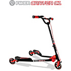 more details on Yvolution Y Fliker Carver C1 Scooter - Red.