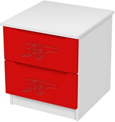 Arsenal Football Bedside Chest