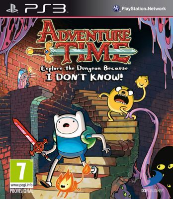 Adventure Time: Explore the Dungeon PS3 Game