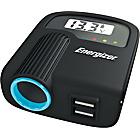 more details on Energizer 12V Socket & Twin USB Adapter with Battery Monitor
