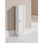 more details on Colonial Toilet Roll Cupboard - White.