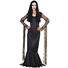 more details on Fancy Dress Addams Family Black Morticia Costume-Size 16-18.