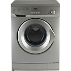 more details on Bush F721QS 7KG 1200 Spin Washing Machine - Silver/Exp.Del.