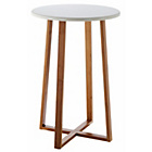 more details on Habitat Drew Tall Side Table - Bamboo.
