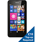 more details on EE Nokia Lumia 630 Mobile Phone - Black.