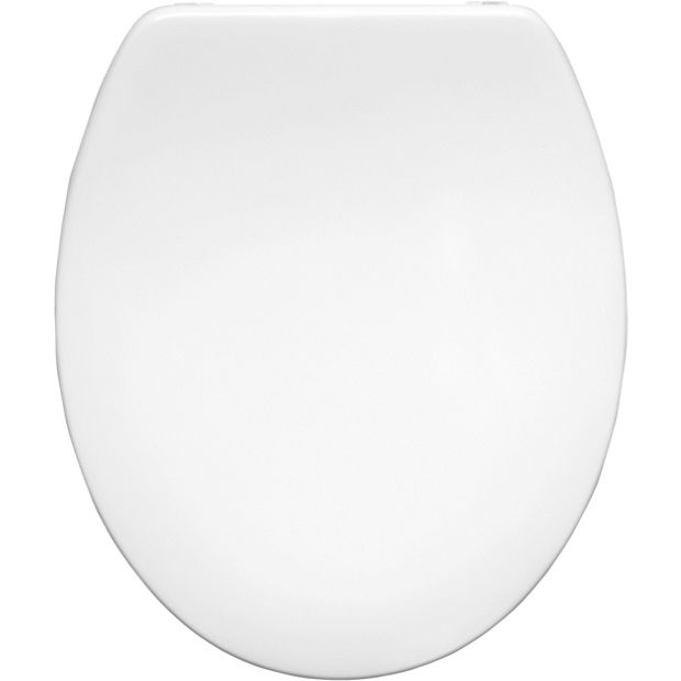 buy bemis roma thermoset plastic toilet seat white at. Black Bedroom Furniture Sets. Home Design Ideas