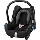 more details on MaxiCosi CabrioFix 0+ Car Seat - Origami Black.