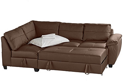 Futons R Us Homelegance Tufted Mini Sofa Bed Lounger
