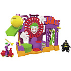 more details on Fisher-Price Imaginext DC Super Friends Joker Laff Factory.