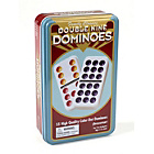 more details on Double 9 Colour Dot Dominos in a Tin.