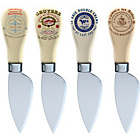 more details on Gourmet Cheese Set of 4 Cheese Knives.