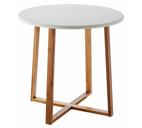 Buy habitat drew low side table bamboo at for Sofa table argos