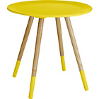 more details on Habitat Blossom Side Table - Yellow.