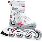 more details on Bladerunner Girls' Pink and White Inline Skates - Large.
