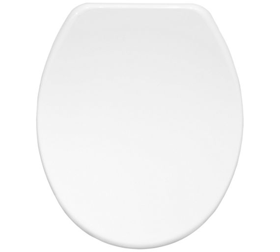 Buy Bemis Orleans Moulded Wood Toilet Seat White At