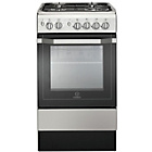 more details on Indesit I5GSH1X Single Dual Fuel Cooker - Stainless Steel.