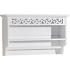 more details on Mountrose Scroll Towel Rail with Shelf.