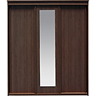 more details on New Hallingford 3 Door Sliding Wardrobe - Wenge Effect.