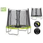 more details on EXIT Twist 6ft Green/Grey Trampoline and Enclosure.