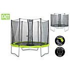 more details on EXIT Twist 10ft Green/Grey Trampoline and Enclosure.