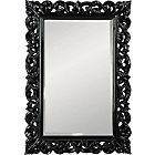 more details on Heart of House Isabella High Gloss Wall Mirror - Black.