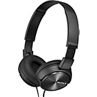 more details on Sony ZX310 On-Ear Headphones - Black.