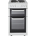 more details on Bush BET50W Electric Cooker- White/Ins/Del/Rec.
