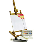 more details on Bizili Acrylic Painting Box and Easel Set - 24 Pieces.