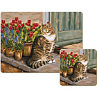 more details on Creative Tops Cottage Cat 6 Table Mats and Coasters.