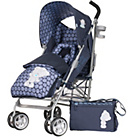 more details on Tiny Tatty Teddy Stroller Bundle - Navy.