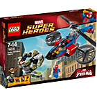 more details on LEGO® Spider Helicopter Rescue - 76016.